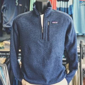 Patagonia M's Better Sweater 1/4 Zip Classic Navy